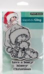 Beary Merry - stempel gumowy Penny Black 40-425