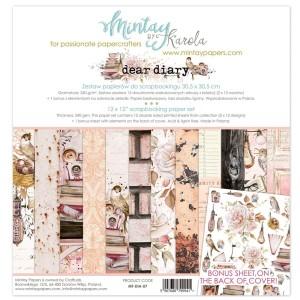 Dear Diary - zestaw papierów 30,5cm x 30,5cm