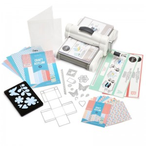 Maszynka Big Shot Plus A4 Starter Kit (White & Gray)