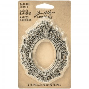 Ramki Baroque Frames - Antique Nickel - 2szt TH93267