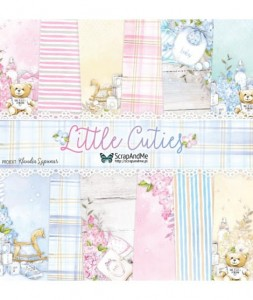 Little Cuties - zestaw papierów 30,5cm x 30,5cm