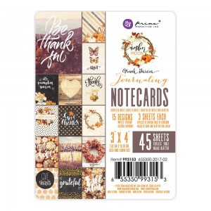 "Amber Moon Double-Sided Journaling Cards 3""X4"" - Prima 993153"