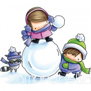 Snow Fight - stempel gumowy Stamping Bella EB587