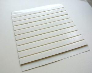 Kostka 3D dystansowa, piankowa 2mm x 12mm x 12mm