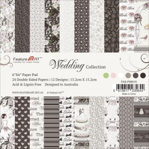 Wedding Collection - bloczek papierów 15cm x 15cm