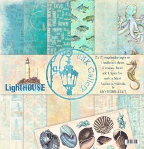LightHOUSE - zestaw papierów 30,5cm x 30,5cm UHK Gallery