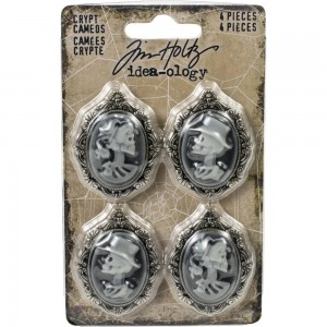 Idea-Ology Metal Crypt Cameos - Tim Holtz TH93967