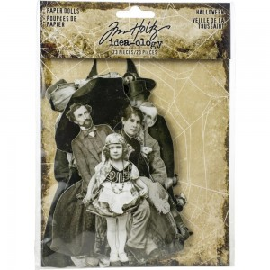 Halloween, Idea-Ology Paper Dolls Die-Cuts 23szt Tim Holtz TH93973