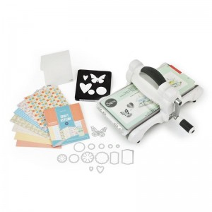 Maszynka Big Shot Starter Kit (White & Gray)