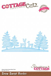 Wykrojnik Snow Swept Border - Cottage Cutz CCE-040
