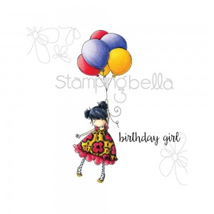 Blossom Loves Balloons - stemple gumowe Stamping Bella EB306