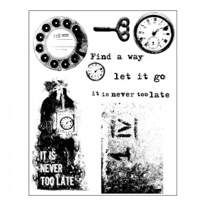 Never too late - stemple gumowe Prima 9szt 961985