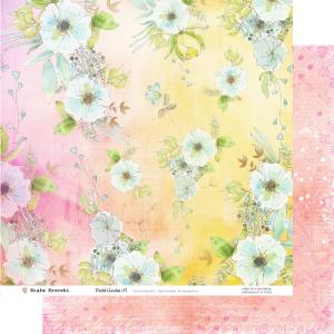Pastel Garden 03 - papier dwustronny 30,5cm x 30,5cm