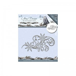 Wykrojnik Ice Crystal Swirl - Amy Design ADD10082