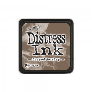Distress Mini Ink Pad - frayed burlap TDP39990