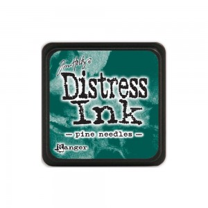 Distress Mini Ink Pad - pine needles TDP40095