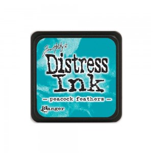 Distress Mini Ink Pad - peacock feathers TDP40064
