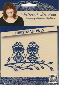 Wykrojnik Christmas Owls - Tattered Lace D871
