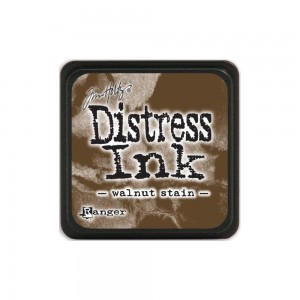 Distress Mini Ink Pad - walnut stain TDP40279