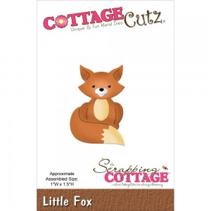 Little Fox - lisek - wykrojnik Cottage Cutz CC-042