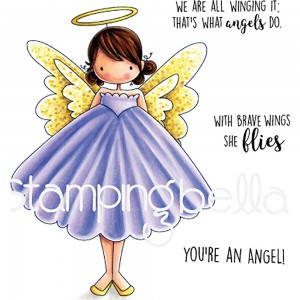 Annie Is An Angel - stemple gumowe Stamping Bella EB585