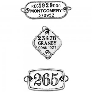 Assemblage Charms - Tim Holtz THA20048