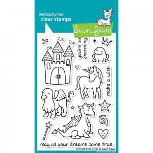 Critters Ever After - stemple akrylowe Lawn Fawn LF382