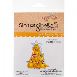 The Chick Tree -  stemple gumowe Stamping Bella EB583