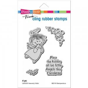Heavenly Kiddo - stemple gumowe Stampendous QS5009