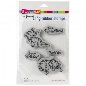 Purrfect Friends - stemple gumowe Stampendous QS5026