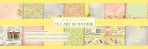 The Art of Nature - zestaw papierów 30,5cm x 30,5cm ScrapBerry`s