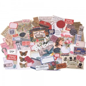 Keepsakes - Idea-Ology Ephemera 95 szt Tim Holtz TH93958
