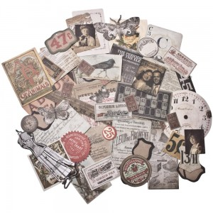 Thrift Shop - Idea-Ology Ephemera 54 szt Tim Holtz TH93114