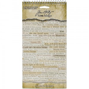 Clippings - naklejki Idea-Ology Sticker Book Tim Holtz TH94030