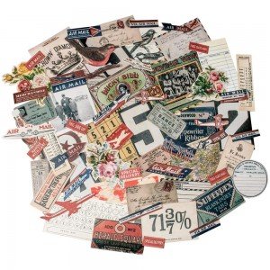 Ephemera pack, emporium - Tim Holtz idea-ology TH93189