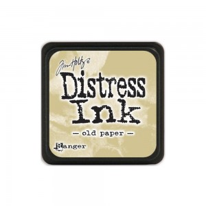 Distress Mini Ink Pad - old paper TDP40057