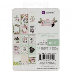 "Havana Journaling Cards Pad 3""X4""  - Prima 597696"