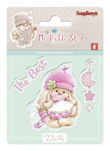 Best Bunny - Bunny My Little Star - stemple ScrapBerry`s