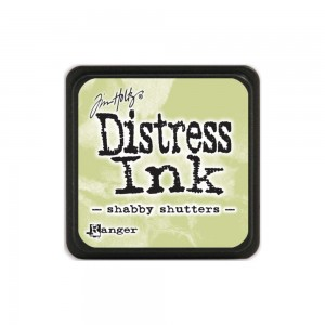 Distress Mini Ink Pad - shabby shutters TDP40163